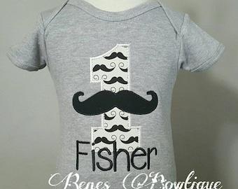 Mustache Birthday Shirt