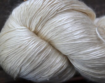 Mulberry Silk Yarn ~ 6nm lace weight yarn
