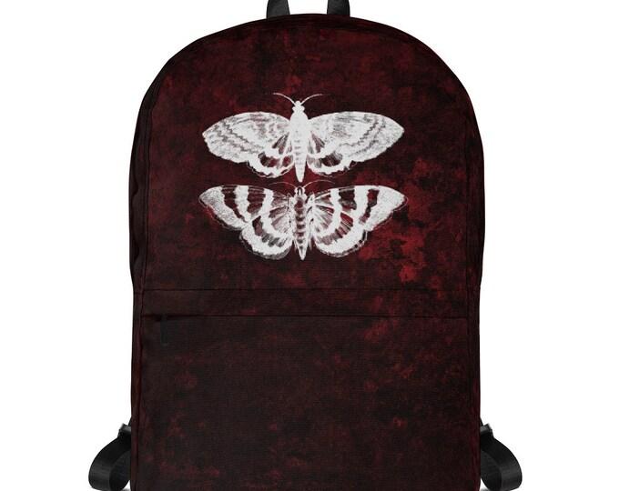 Red Splatter Mothra Backpack