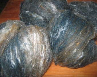 "Llama/Wool/Silk Blend ""Southern Ocean"""
