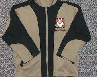 Vintage Looney Tunes full zipper sweatshirt/jacket nice condition