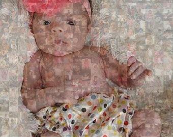 Custom Photo Mosaic/ Photo Montage