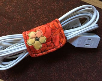 Lg Cord keeper, cord organizer, gadget cord wrap, computer cable organizer, electronics cord organizer, Best Selling item, cord wrapper,Lg#1