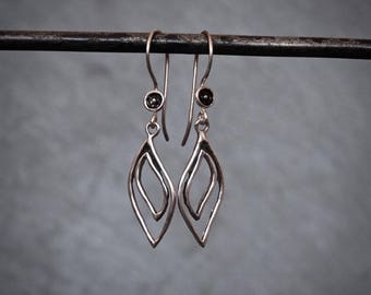 Silver Earrings, Silver Drop Earrings, Dangle Earrings, Everyday Earrings, Minimal Silver Earrings, Sterling Silver Earrings, 925