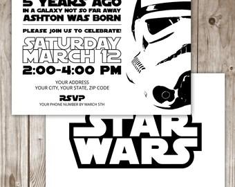 Star Wars Invitation