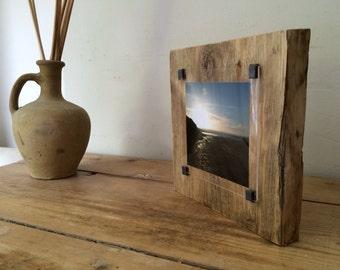 Reclaimed Wood Frame   Instagram Photo Frame   Rustic Photo Frame   Wood  Wall Art