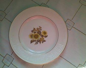 Royal Warner Sunflower Plate