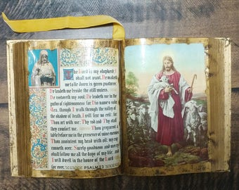 Psalm 23 Decoupage Decor