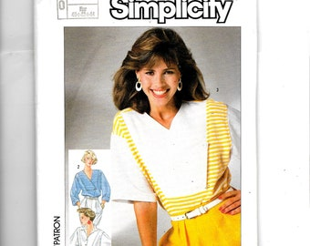 Simplicity  Misses' Pullover Top Pattern 7328