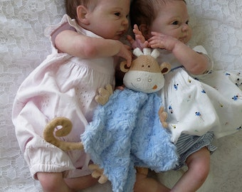 Beautiful Custom Set of Reborn Twins  *** Nevaeh AND Natalie ***