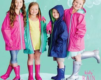 Monogrammed Rain Jacket, Monogram Rain Jacket, Monogrammed Full Zip Jacket, Monogrammed Rain Coat, Rain gear, Personalize, LIGHT-WEIGHT Coat