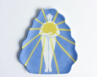 Sun Girl Plate