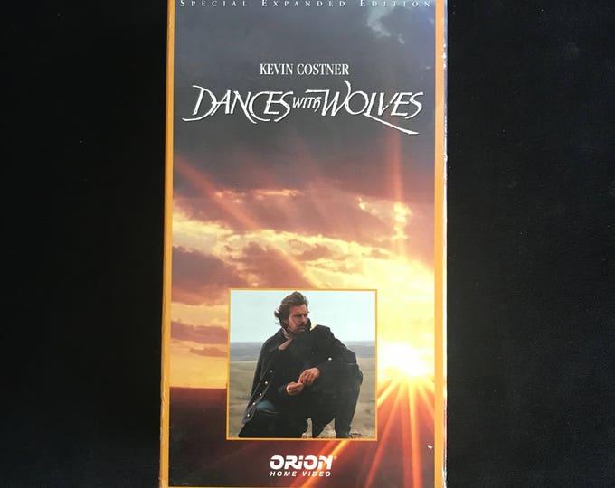 DANCES with WOLVES 1990's Vintage Movie VHS