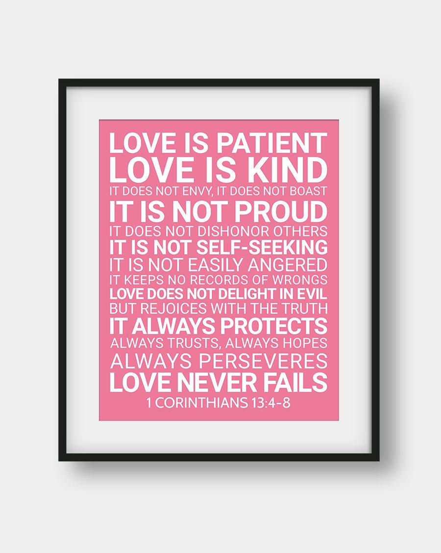 Love Is Patient Love Is Kind Quote 60% Off Love Is Patient Love Is Kind It Does Not Envy 1