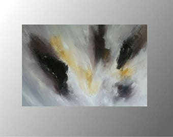 modern art abstract acrylic painting