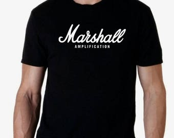 Marshall amplification men t shirt different sizes