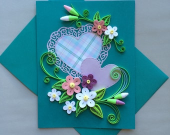 Quilled Card for Any Ocassion