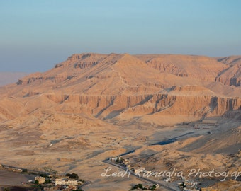 Valley of the Kings, Egypt - Matted Print