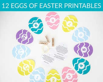 12 Eggs of Easter- Digital Download