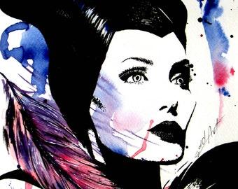 A4 Print ~Maleficent~