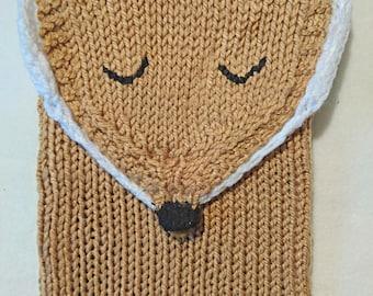 Fox case ipad tablet crochet