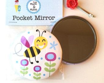 Bee Pocket Mirror