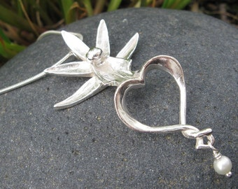 Ghost Orchid Necklace
