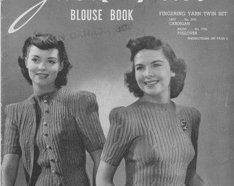 Jack Frost Blouse Book 1942