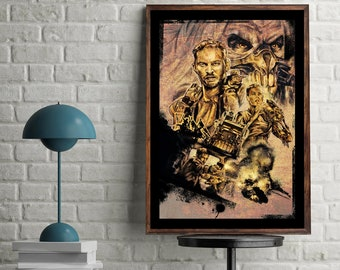 Mad Max Fury Road Artwork Home Decoration Poster