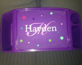 Girl's Lap Desk, Personalized Activity Tray