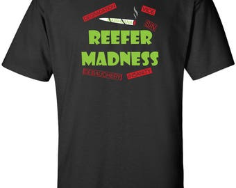 Reefer Madness 1936 Movie Funny Marihuana T-Shirt