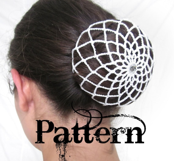 Crochet Bun Cover Pattern From Nostalgicnovelties On Etsy Studio