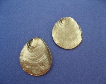 VIntage Gold Post Earrings