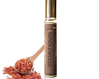Organic Sandalwood Perfume, Vegan Perfume, Gift Idea