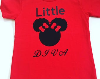 Girls Birthday Shirts, Personalized Girls Shirts, Graphic Tee-Shirts For Girls, Little Girl Clothing, Little Girls Shirts, Afro Puff Shirts
