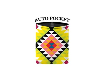 Auto Pocket - Aztec - Citrus - Car Accessory Automobile Caddy