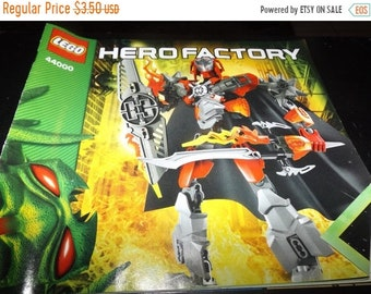 35% OFF SALE LEGO Hero Factory assembly booklet 44000