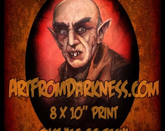 Horror Movie Monster Nosferatu Count Orlok