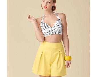Sewing Pattern-Simplicity 1426 Retro 50's Vintage Bra Halter Tops Size 4-12