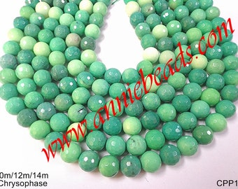 Beautiful Natural Faceted Chrysophase !!!!