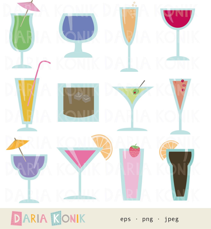 Cocktailglas Aus Papier Basteln   Bouwunique