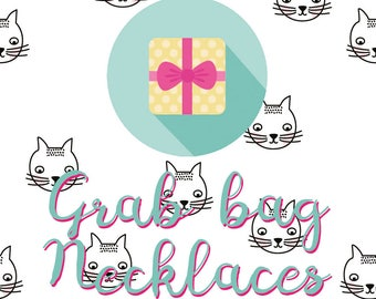 Grab bag Necklaces - this grab bag is a surprise with only necklaces. Worth at least 25 euro.