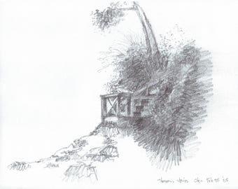 Sharon's Stairs (print)