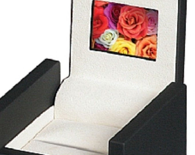 "HD LCD Video Engagement Wediing Anniversary Valentine Birthday Ring Box with 2"" High-definition Screen"