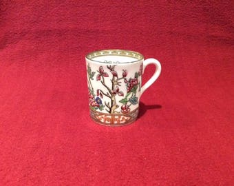 Coalport Indian Tree Coffee Can circa 1930