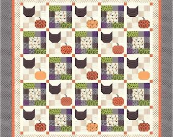 Delightfully Spooky PDF Quilt Pattern