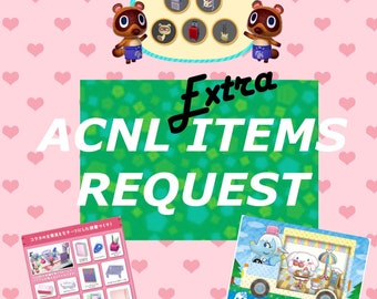 Animal Crossing New Leaf: Items Request Service x2