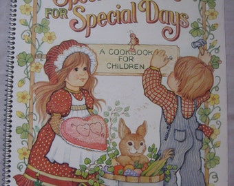 Special Dishes for Special Days Current Childrens Cookbook 1980