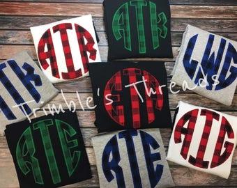 Monogrammed Sweatshirt ~ Personalized ~ Monogram Sweater ~ Gift for Her