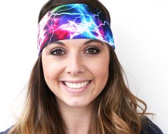 Lightning | Fitness headband | Yoga headband | Workout headband | Crossfit | Running headband | Gym Gear | Buy Any 4, Get 1 FREE!